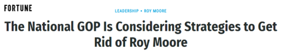 Fortune Link to Roy Moore Article