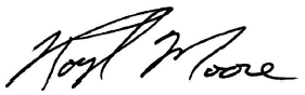Roy Moore Signature